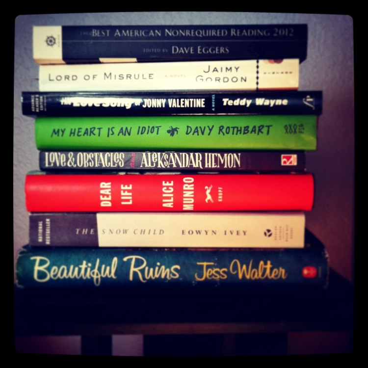 nightstand books